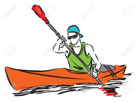 canoe boat clipart rafting clipart paddle boat pencil and in color rafting