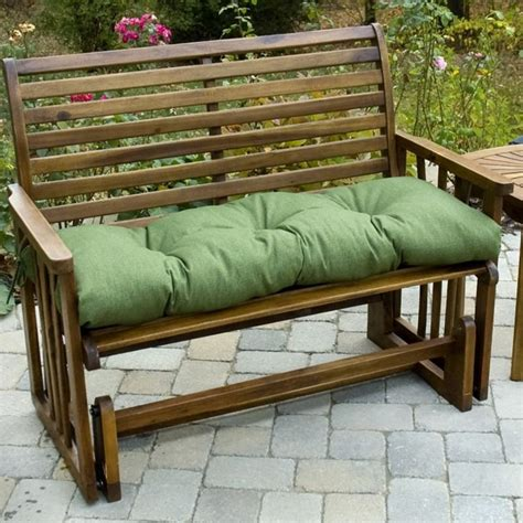 46 inch bench cushion greendale home fashions 46 inch outdoor swingbench cushion