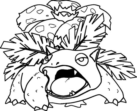 pokemon coloring pages mega venusaur pok 233 mon para colorir pra colorir e rabiscar