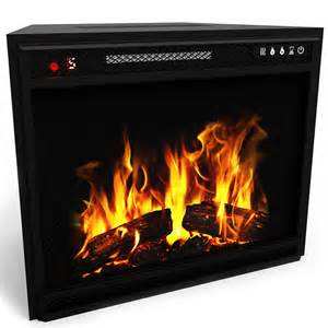 elite 23 inch led electric firebox fireplace insert