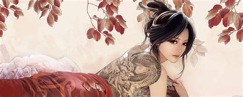 asian girls with tattoos asian tattoos and designs page 242
