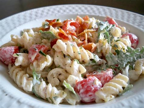 pasta salas the cheese pusher blt pasta salad