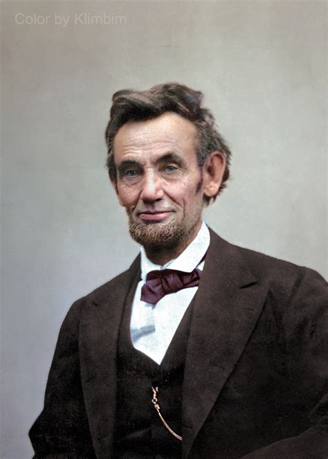 picture of abraham lincoln american civil war color by klimbim