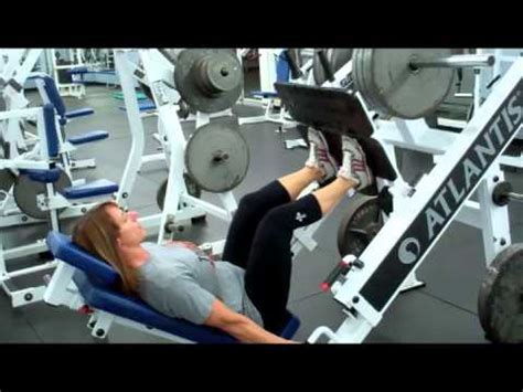 2 bench press variations that leg press variations to target the quads hams youtube