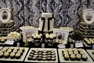 dessert table luxury wedding