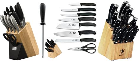 Best Kitchen Knive Sets Knife Sets Don T Buy Before You Read This
