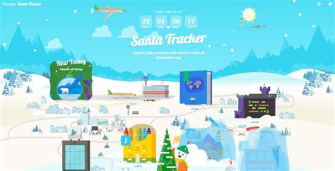 Google's Christmas Santa Tracker is up and running   the