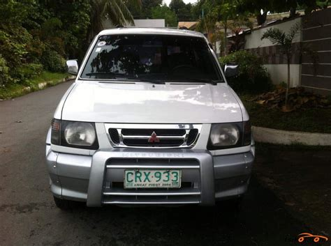 mitsubishi car 2002 mitsubishi adventure 2002 car for sale central luzon