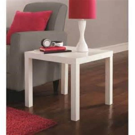 dhp parsons modern coffee table dhp parsons white coffee table 3537496 the home depot jennyo