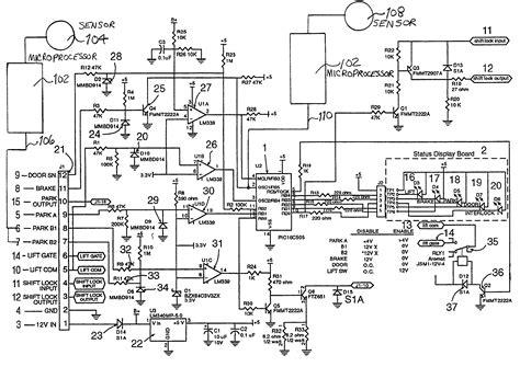 patent us7274980 intelligent lift interlock system patents