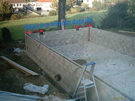 Construire Sa Piscine En Beton 2366 by Installation Des El 233 Ments 224 Sceller