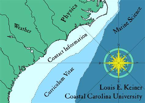 carolina college map louis e keiner coastal carolina