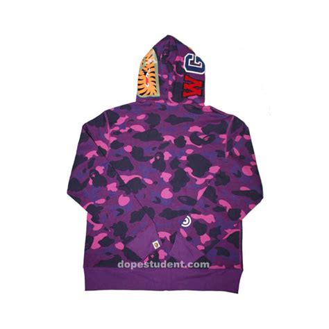 Bape Shark Fullzip Hoodie purple camo zip bape shark hoodie dopestudent