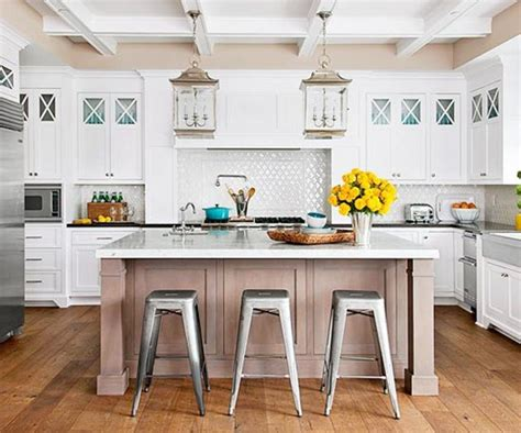 Lantern Lights Kitchen Island by Bhg Centsational Style