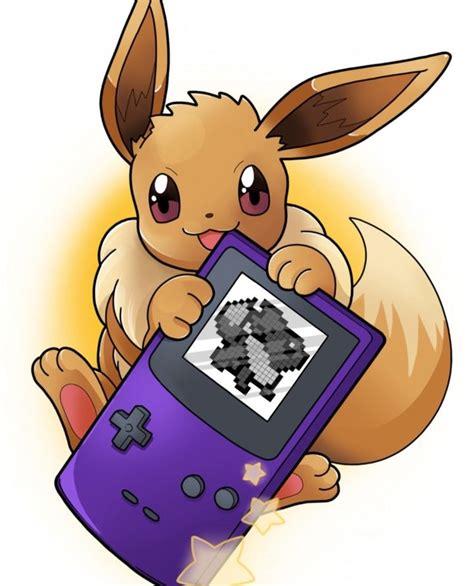 eevee purple game boy pokemon pokemon eevee pokemon cute pokemon