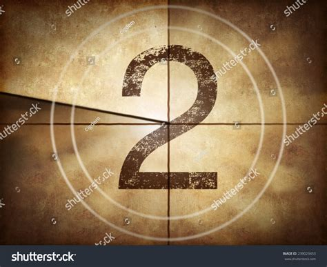 A Shoey Countdown Number 2 countdown with number 2 stock photo 239023453
