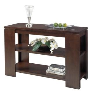 bentwood walnut sofa table bentwood walnut sofa table 12295641 overstock