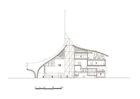 six c sections gallery of centre pompidou metz shigeru ban architects 13