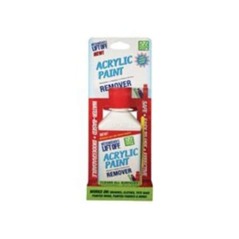 acrylic paint remover lift acrylic paint remover 4 5 fl oz du all