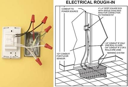radiant heat thermostat wiring diagram uponor radiant thermostat wiring diagrams