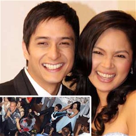 Judy Santos Wedding Song List by Judy Santos And Agoncillo Pledge An Quot Unchanging