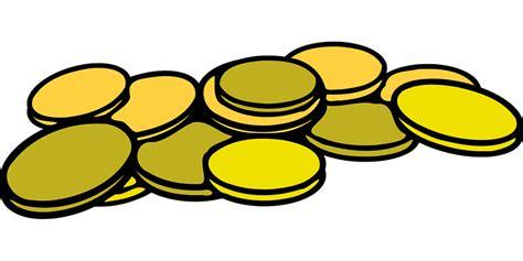 Dompet Koin Klip kostenlose vektorgrafik kaution m 252 nzen geld stapel