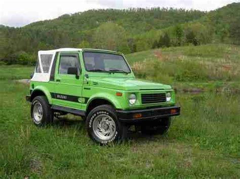 Suzuki Sidekick Lift Purchase Used Suzuki Samurai Well Maintained Clean Zuk 3