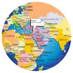 World Map Israel by Isreal On World Map Related Keywords Amp Suggestions