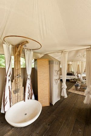 glamping bathrooms amenities breathe bell tents australia