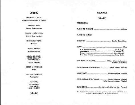 ceremony program template free graduation ceremony program template invitation template
