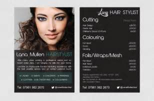 Hair salon flyer flyer pinterest