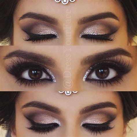 Eyeshadow Recommended wedding makeup for brunettes mugeek vidalondon