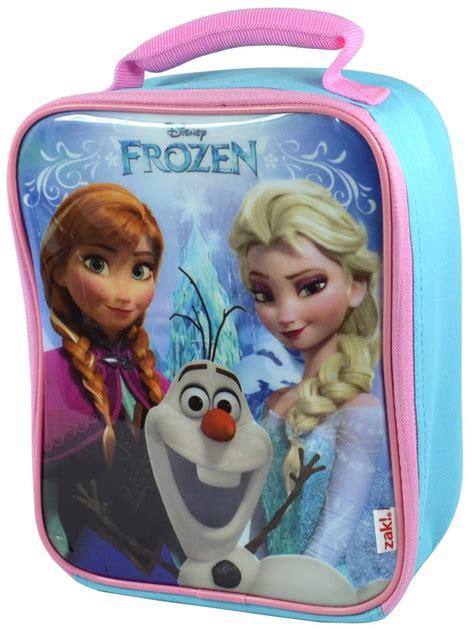 Snow Frozen Lunchbox disney frozen vertical lunch bag and tritan bottle lunch bag land