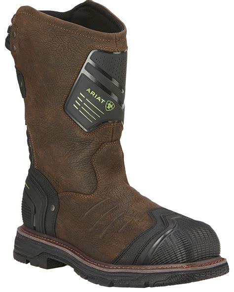 ariat work boot ariat s catalyst vx waterproof composite toe work