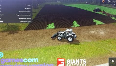 mod of let s farm game gamescom farming simulator 2017 gameplay farming