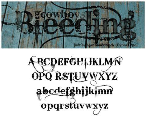 tattoo font bleeding cowboy 11 free bleeding cowboy font images bleeding cowboys