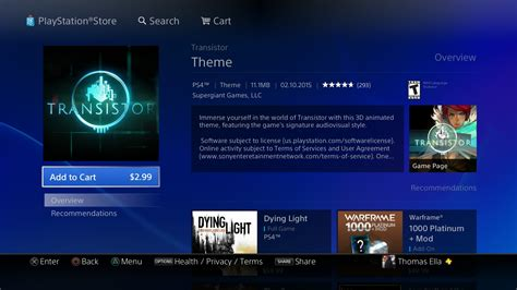 themes ps4 problem buying themes on ps4 is terrible hardcore gamer