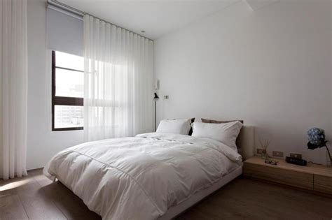 bedroom minimalist minimalist bedroom design white color interior with wooden