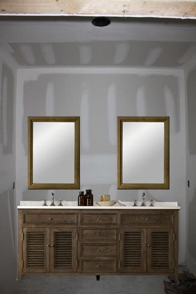 mirrors over bathroom vanities one large mirror or two individual mirrors over double vanity