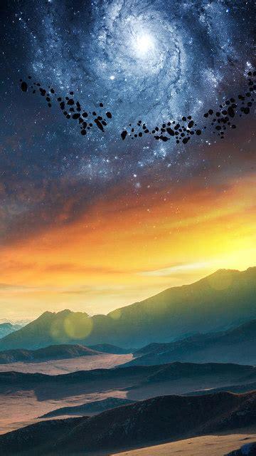 galaxy x6 wallpaper astronaut galaxy pyramid full hd wallpaper