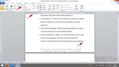 cara membuat halaman pada word landscape cara membuat salah satau halaman atau lebih menjadi