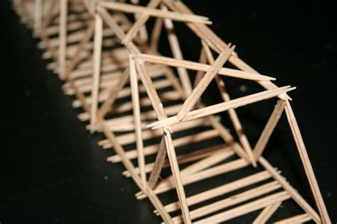Toothpick Bridge Targeted Teaching With Mrs W Toothpick House Plans