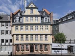 goethe haus goethe museum und goethe haus frankfurt tourismus