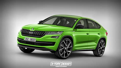 skoda coupe skoda kodiaq coupe probably won t look like this