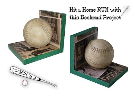 baseball for building boys to books 12 beautifully creative diy bookends diy