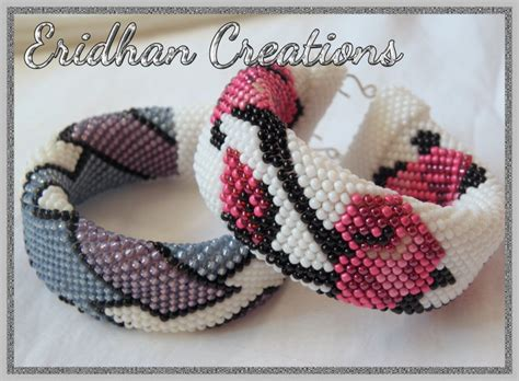 eridhan creations beading tutorials beaded crochet