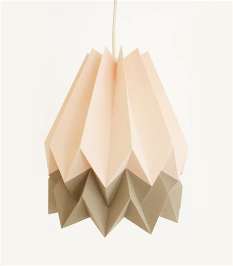 Origami Light - origami pendant lights lshades