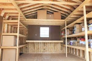 shed storage ideas on shed organization shed