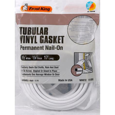tubular vinyl gasket weatherstrip frost king products