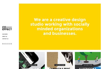 the design effect inc the best designs web design inspiration co effect creative